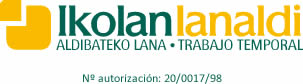 Ikolan Lanaldi, Trabajo temporal